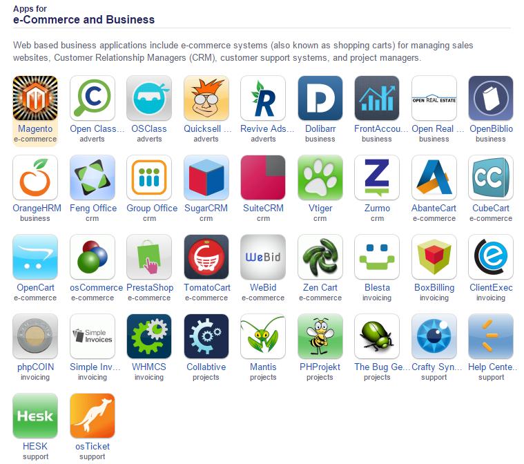 apps e-commerce